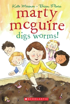 Marty McGuire Digs Worms! Cover
