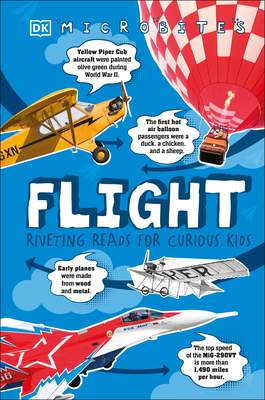 Microbites: Flight: Riveting Reads for Curious Kids  (Library Edition) Cover Image