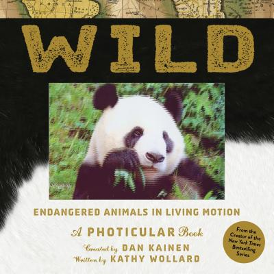 wild endangered animals in living motion photicular