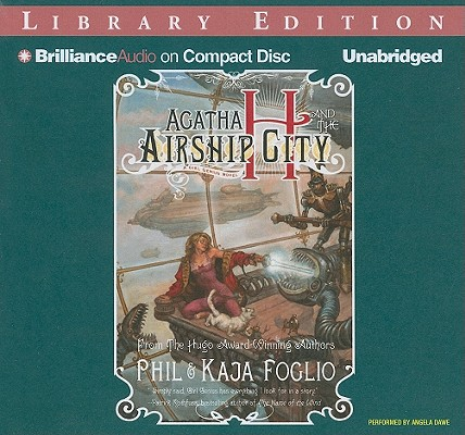 Agatha H and the Airship City Cover