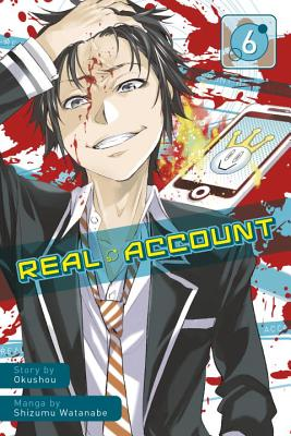 Cover for Real Account 6
