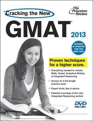Cracking the New GMAT with DVD, 2013 Edition Cover