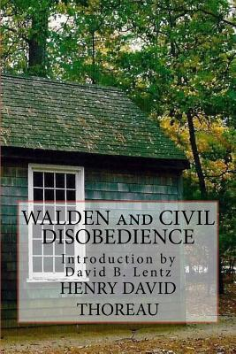 Walden: and Civil Disobedience Cover Image