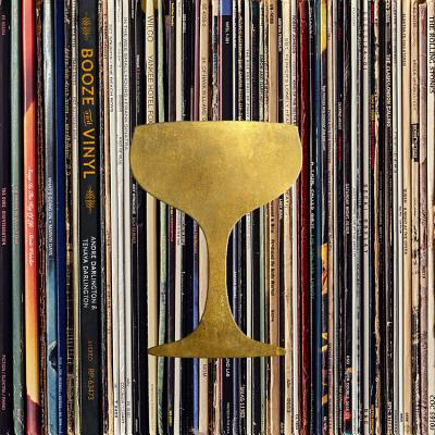 Booze & Vinyl: A Spirited Guide to Great Music and Mixed Drinks Cover Image