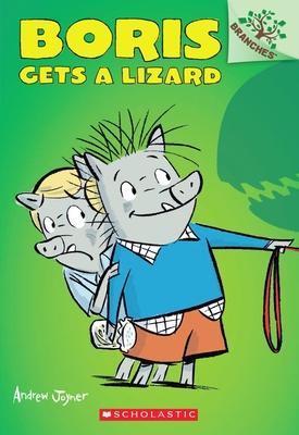 Cover for Boris Gets a Lizard