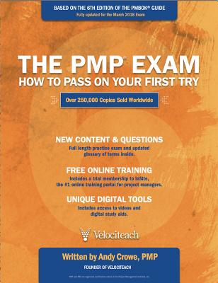 The PMP Exam: How to Pass on Your First Try, Sixth Edition Cover Image