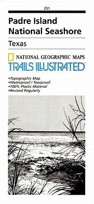 Padre Island National Seashore (National Geographic: Trails Illustrated Maps #251) Cover Image
