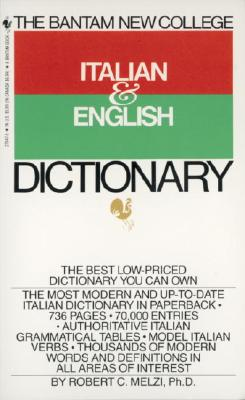 The Bantam New College Italian & English Dictionary Cover