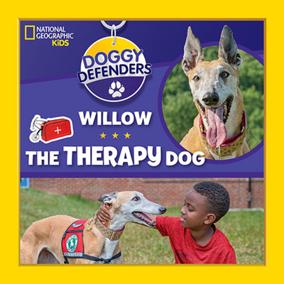 Doggy Defenders: Willow the Therapy Dog Cover Image