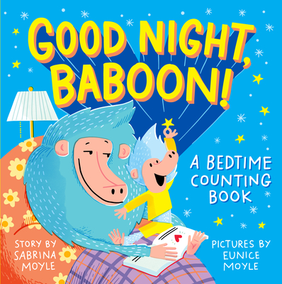Good Night, Baboon!: A Bedtime Counting Book (Hello!Lucky) Cover Image