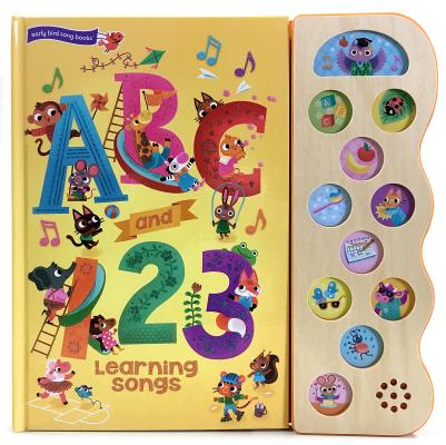 ABC and 123 Learning Songs Cover Image