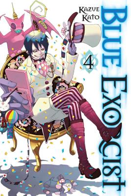 Blue Exorcist, Vol. 4 Cover