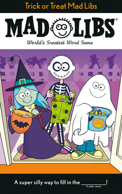Trick or Treat Mad Libs Cover Image