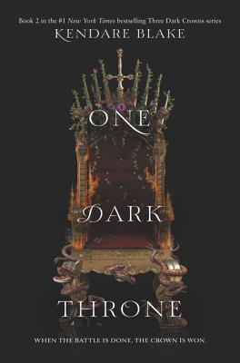 One Dark Throne (Three Dark Crowns #2) Cover Image
