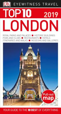 Top 10 London: 2019 (DK Eyewitness Travel Guide) Cover Image