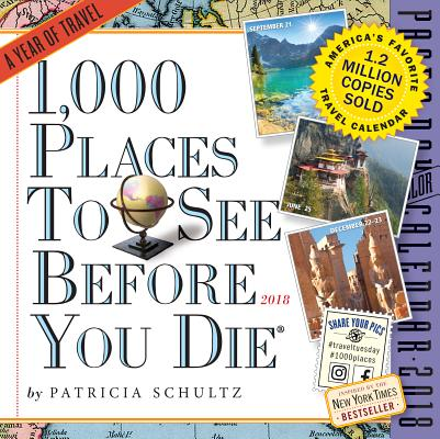 1,000 Places to See Before You Die Page-A-Day Calendar 2018 Cover Image