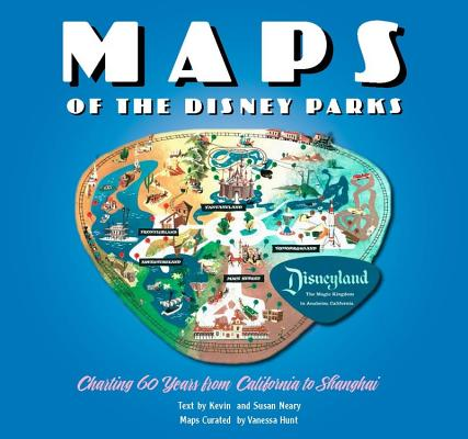 Maps of the Disney Parks Cover