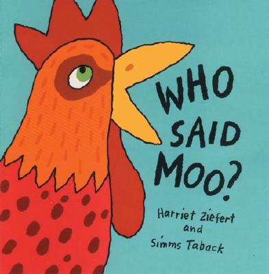 Who Said Moo? Cover Image