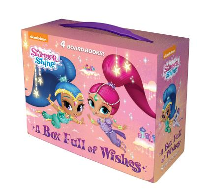 A Box Full of Wishes (Shimmer and Shine): 4 Board Books Cover Image
