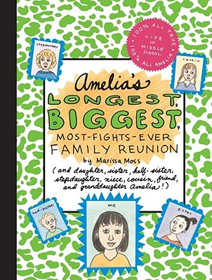 Amelia's Longest, Biggest, Most-Fights-Ever Family Reunion Cover