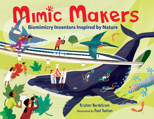 Mimic Makers: Biomimicry Inventors Inspired by Nature Cover Image