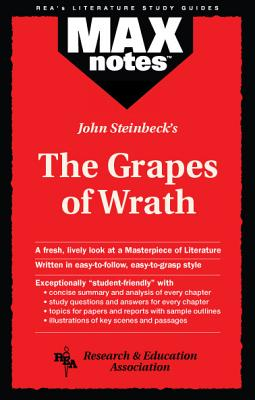 Grapes of Wrath, the (Maxnotes Literature Guides) Cover Image