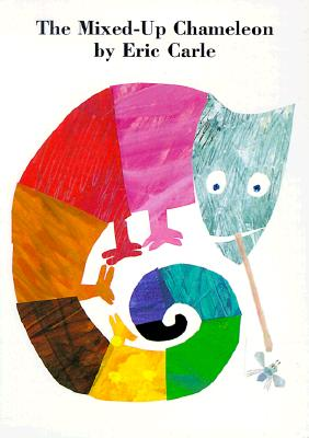 The Mixed-Up Chameleon Board Book Cover Image