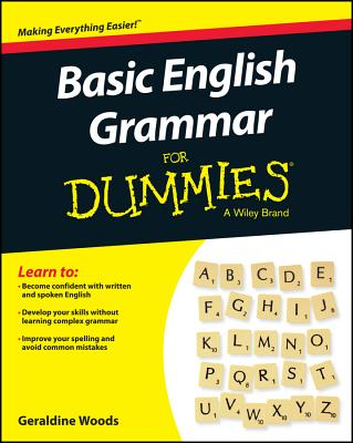 Basic English Grammar for Dummies - Us Cover Image