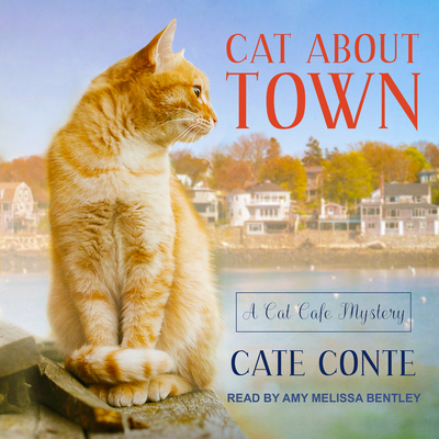 Cover for Cat about Town (Cat Cafe Mystery #1)