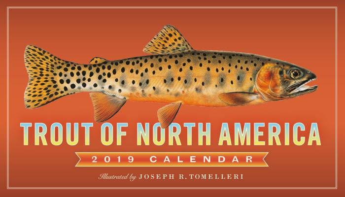 Trout of North America Wall Calendar 2019 Cover Image