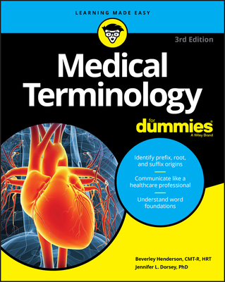 Medical Terminology for Dummies Cover Image