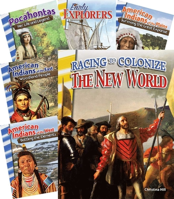 The New World 6-Book Set (Primary Source Readers) Cover Image