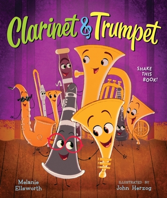 Clarinet and Trumpet (book with shaker) Cover Image