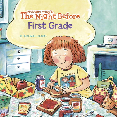 The Night Before First Grade (Reading Railroad Books) Cover Image
