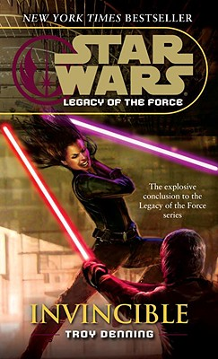 Invincible: Star Wars Legends (Legacy of the Force) (Star Wars: Legacy of the Force - Legends #9) Cover Image