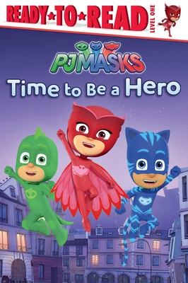 Cover for Time to Be a Hero