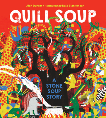 Quill Soup: A Stone Soup Story Cover Image