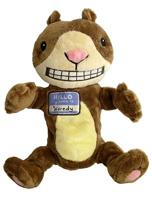 Scaredy Squirrel Puppet: 12