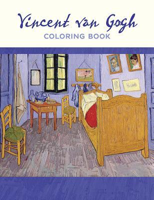 Vincent Van Gogh Coloring Book Cover Image