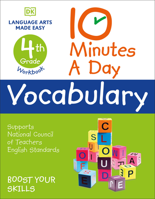 10 Minutes a Day Vocabulary, 4th Grade Cover Image