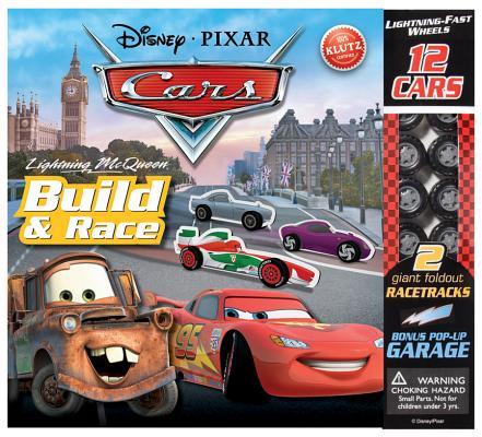 Lightning McQueen Build & Race (Disney Pixar Cars) Cover Image
