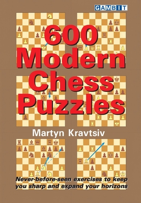 600 Modern Chess Puzzles Cover Image