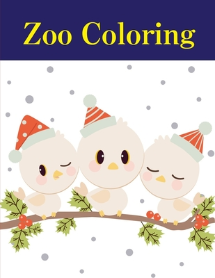 Zoo Coloring A Cute Animals Coloring Pages For Stress Relief Relaxation Brookline Booksmith
