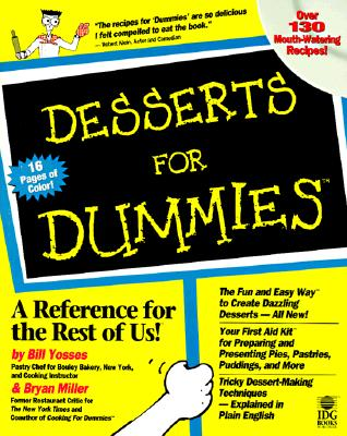 Desserts For Dummies Cover Image