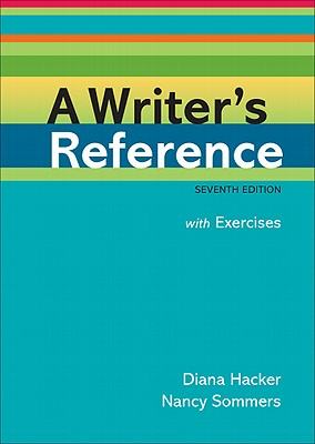 A Writer's Reference: With Exercises Cover Image
