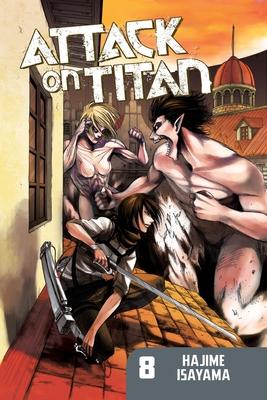 Attack on Titan 8 Cover
