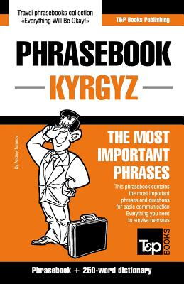 Phrase book Kyrgyz The Most Important Phrases Cover Image