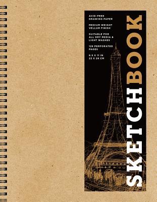 Sketchbook (Basic Large Spiral Kraft), 15 (Sterling Sketchbooks #15) Cover Image