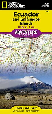 Ecuador and Galapagos Islands (Adventure Map) Cover Image