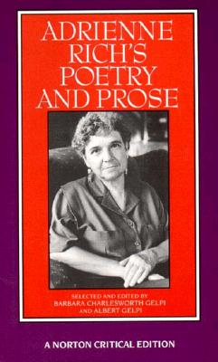 Adrienne Rich's Poetry and Prose Cover